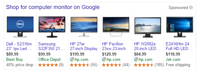 Google Shopping Pricedrop Annotation